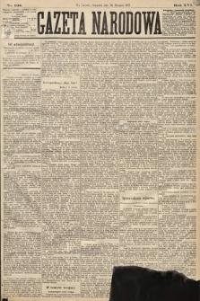 Gazeta Narodowa. 1877, nr198