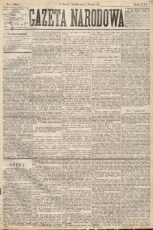 Gazeta Narodowa. 1877, nr204