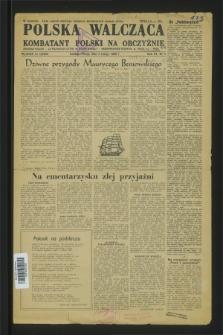 Polska Walcząca - Kombatant Polski na Obczyźnie = Fighting Poland : Polish Weekly. 1949, Nr. 5 (5 lutego)