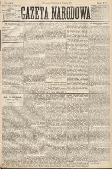 Gazeta Narodowa. 1877, nr222