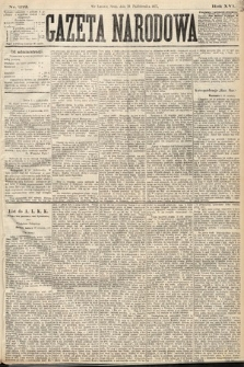Gazeta Narodowa. 1877, nr232