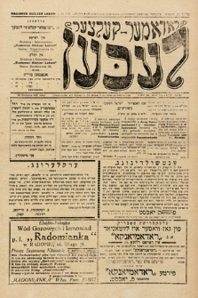 Radomer-Kielcer Leben. 1925, nr34