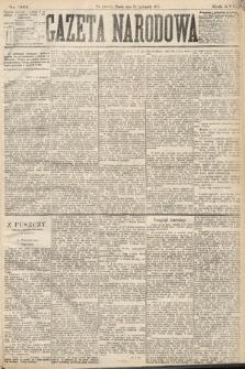 Gazeta Narodowa. 1877, nr263