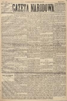 Gazeta Narodowa. 1877, nr271