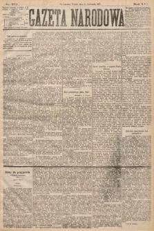 Gazeta Narodowa. 1877, nr272