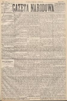 Gazeta Narodowa. 1877, nr278