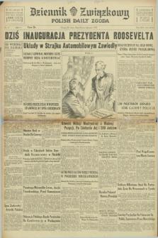 Dziennik Związkowy = Polish Daily Zgoda. R.30, No. 15 (20 stycznia 1937)