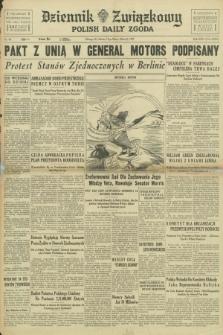 Dziennik Związkowy = Polish Daily Zgoda. R.30, No. 60 (13 marca 1937) + dod.