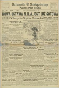 Dziennik Związkowy = Polish Daily Zgoda. R.30, No. 95 (24 kwietnia 1937) + dod.