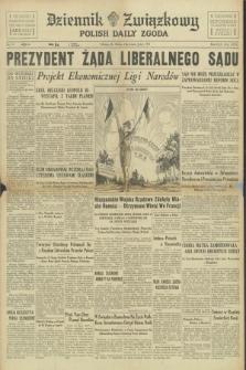 Dziennik Związkowy = Polish Daily Zgoda. R.30, No. 171 (24 lipca 1937) + dod.