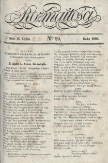 Rozmaitości : pismo dodatkowe do Gazety Lwowskiej. 1840, nr29