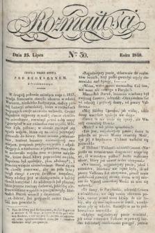 Rozmaitości : pismo dodatkowe do Gazety Lwowskiej. 1840, nr30