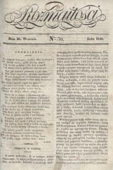 Rozmaitości : pismo dodatkowe do Gazety Lwowskiej. 1840, nr39