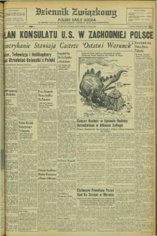 Dziennik Związkowy = Polish Daily Zgoda : an American daily in the Polish language – member of United Press International. R.53 [!], No. 144 (20 czerwca 1961)