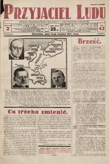 Przyjaciel Ludu. 1931, nr2
