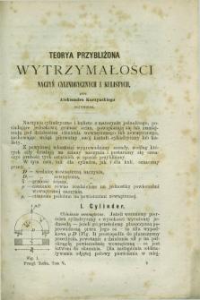 Przegląd Techniczny : pismo miesięczne poświęcone sprawom techniki i przemysłu. [R.3], T.5, [z. 3] ([marzec] 1877) + wkładka