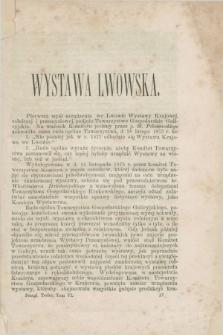 Przegląd Techniczny : pismo miesięczne poświęcone sprawom techniki i przemysłu. [R.3], T.6, [z. 11] ([listopad] 1877) + wkładka