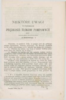 Przegląd Techniczny : pismo miesięczne poświęcone sprawom techniki i przemysłu. [R.3], T.6, [z. 12] ([grudzień] 1877) + wkładka