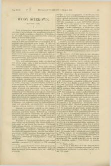 Przegląd Techniczny : czasopismo miesięczne poświęcone sprawom techniki i przemysłu. [R.13], T.24, [z. 8] (sierpień 1887)