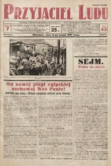 Przyjaciel Ludu. 1931, nr7
