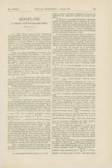 Przegląd Techniczny : czasopismo miesięczne poświęcone sprawom techniki i przemysłu. [R.17], T.28, [z. 11] (listopad 1891)