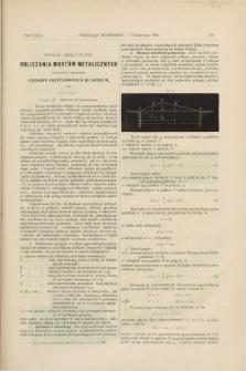 Przegląd Techniczny : czasopismo miesięczne poświęcone sprawom techniki i przemysłu. [R.18], T.29, [z. 10] (pażdziernik 1892) + wkładka