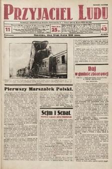 Przyjaciel Ludu. 1931, nr11