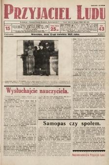 Przyjaciel Ludu. 1931, nr15