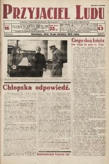 Przyjaciel Ludu. 1931, nr16