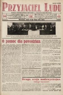 Przyjaciel Ludu. 1931, nr20