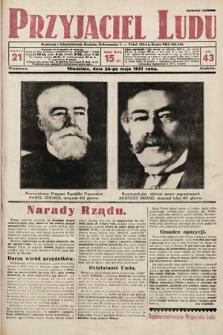 Przyjaciel Ludu. 1931, nr21