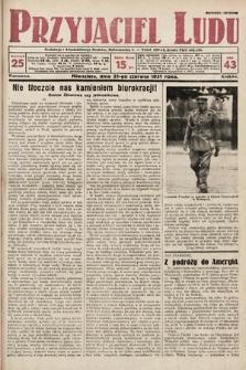 Przyjaciel Ludu. 1931, nr25