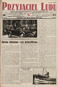 Przyjaciel Ludu. 1931, nr26