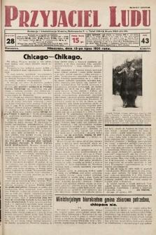 Przyjaciel Ludu. 1931, nr28