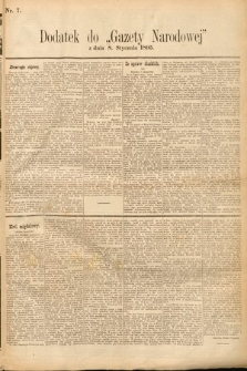 Gazeta Narodowa. 1895, nr7