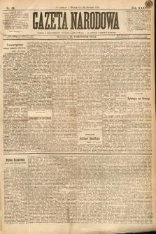 Gazeta Narodowa. 1895, nr22