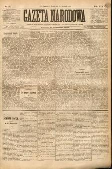 Gazeta Narodowa. 1895, nr25