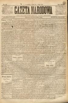 Gazeta Narodowa. 1895, nr32