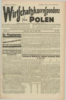 Wirtschaftskorrespondenz für Polen. Jg.5, Nr. 39 (19 Mai 1928)