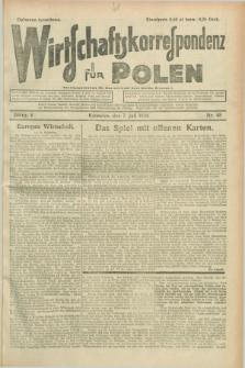 Wirtschaftskorrespondenz für Polen. Jg.5, Nr. 48 (7 Juli 1928)