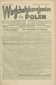 Wirtschaftskorrespondenz für Polen. Jg.5, Nr. 51 (28 Juli 1928)