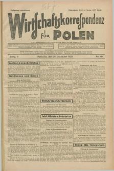 Wirtschaftskorrespondenz für Polen. Jg.5, Nr. 86 (29 Dezember 1928)