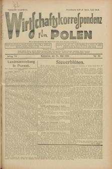 Wirtschaftskorrespondenz für Polen. Jg.6, Nr. 26 (25 Mai 1929)