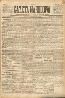 Gazeta Narodowa. 1895, nr57