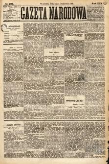 Gazeta Narodowa. 1882, nr226