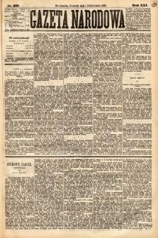 Gazeta Narodowa. 1882, nr227