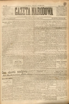 Gazeta Narodowa. 1895, nr93