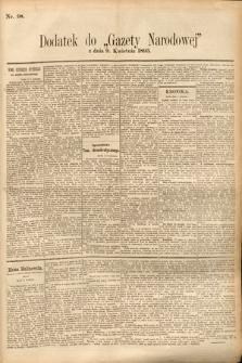 Gazeta Narodowa. 1895, nr98
