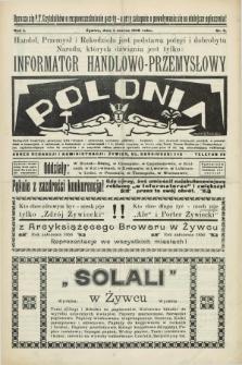 Informator Handlowo-Przemysłowy Polonia. R.1, nr 5 (1 marca 1928)