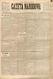 Gazeta Narodowa. 1895, nr160
